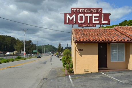 Welcome To Tamalpais Motel - Exterior View